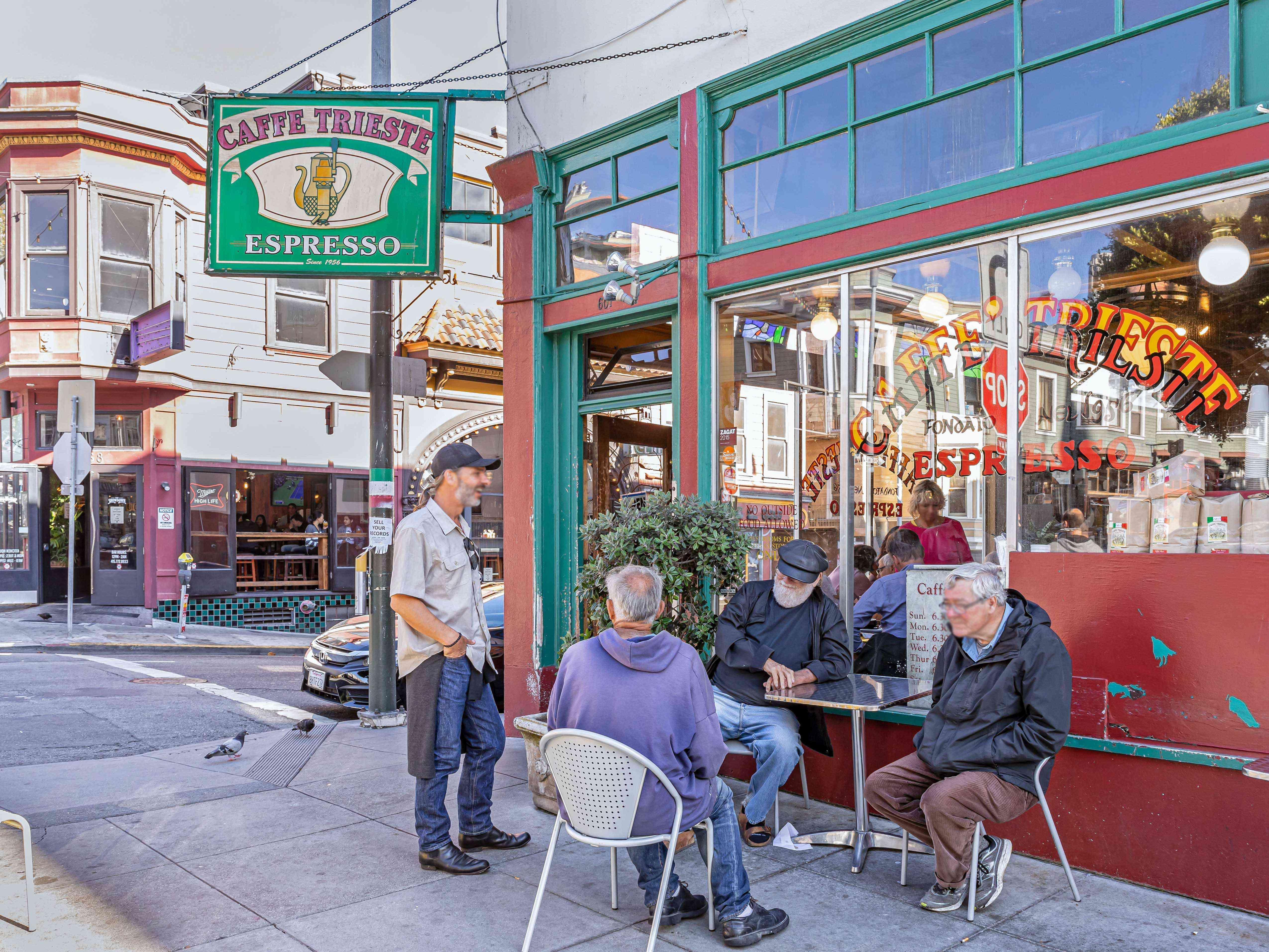 Caffe Trieste, San Francisco