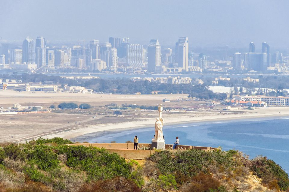 View of San Diego from Cabrillo National Monument