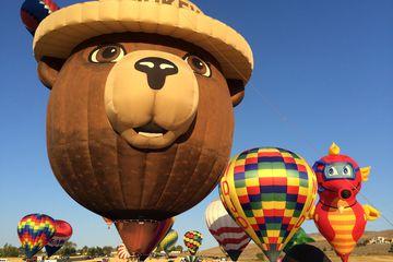 Smokey Bear Hot Air Balloon at the annual Great Reno Balloon Race