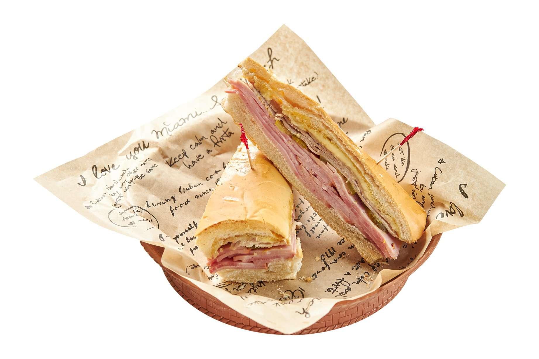 A cuban sandwich from Sergio's
