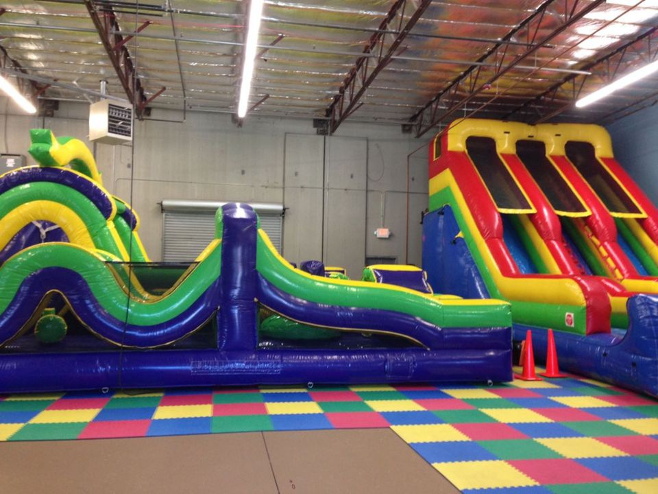 Inflatables At Paradise Cove Fun Center In Reno Nevada