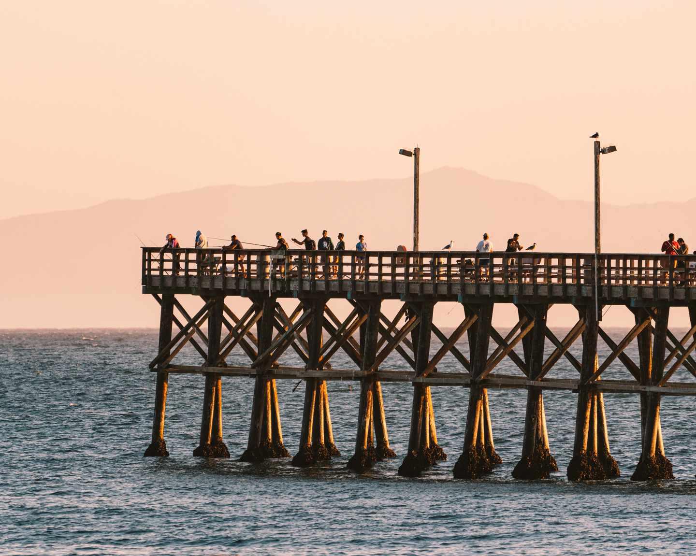 Goleta Beach Pier