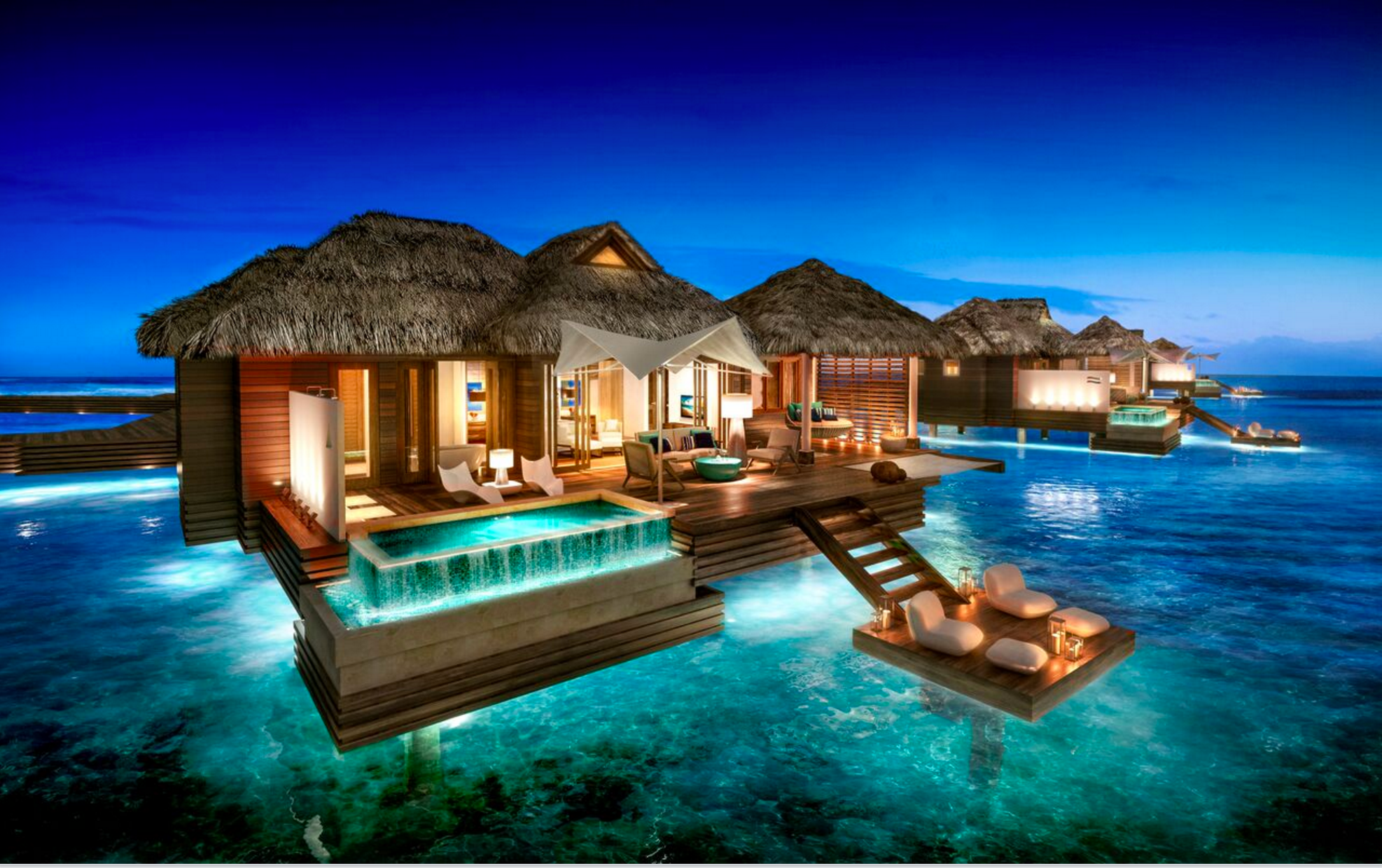 Overwater Bungalows Come To The