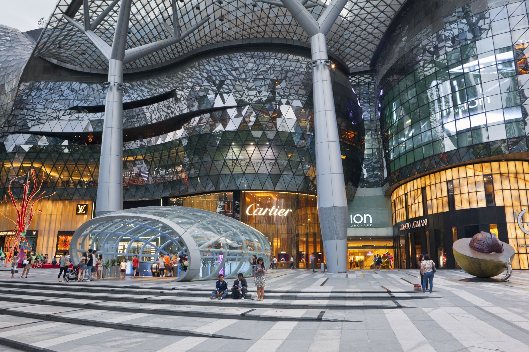 ION Mall on Singapore's Orchard Road