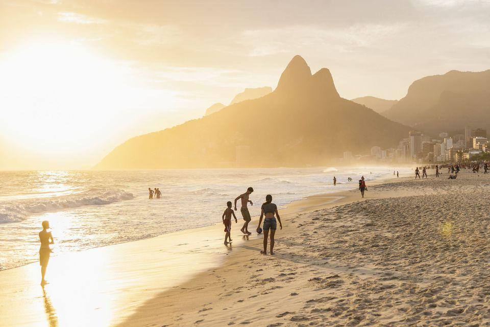 Playa en Rio de Janeiro