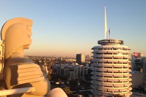 Capitol Records Building in Hollywood