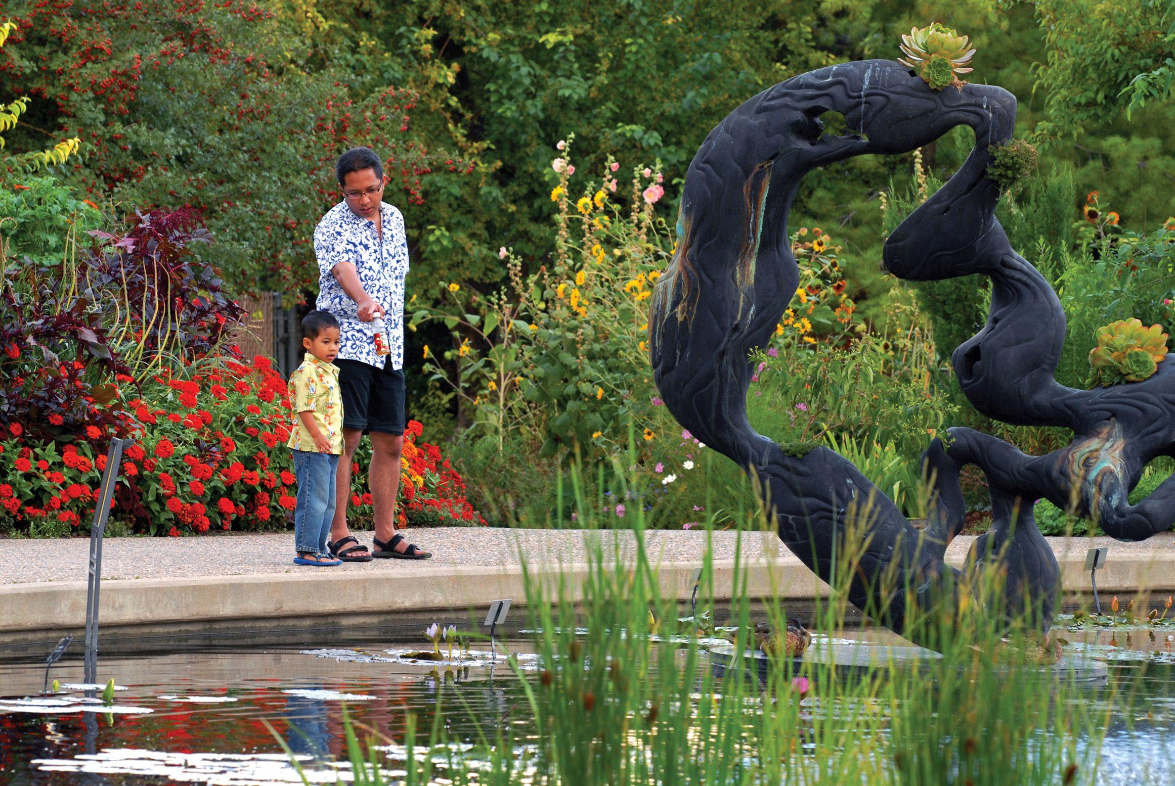 The Denver Botanic Gardens