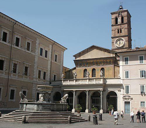Best Rated Hotels in Rome Trastevere Neighborhood