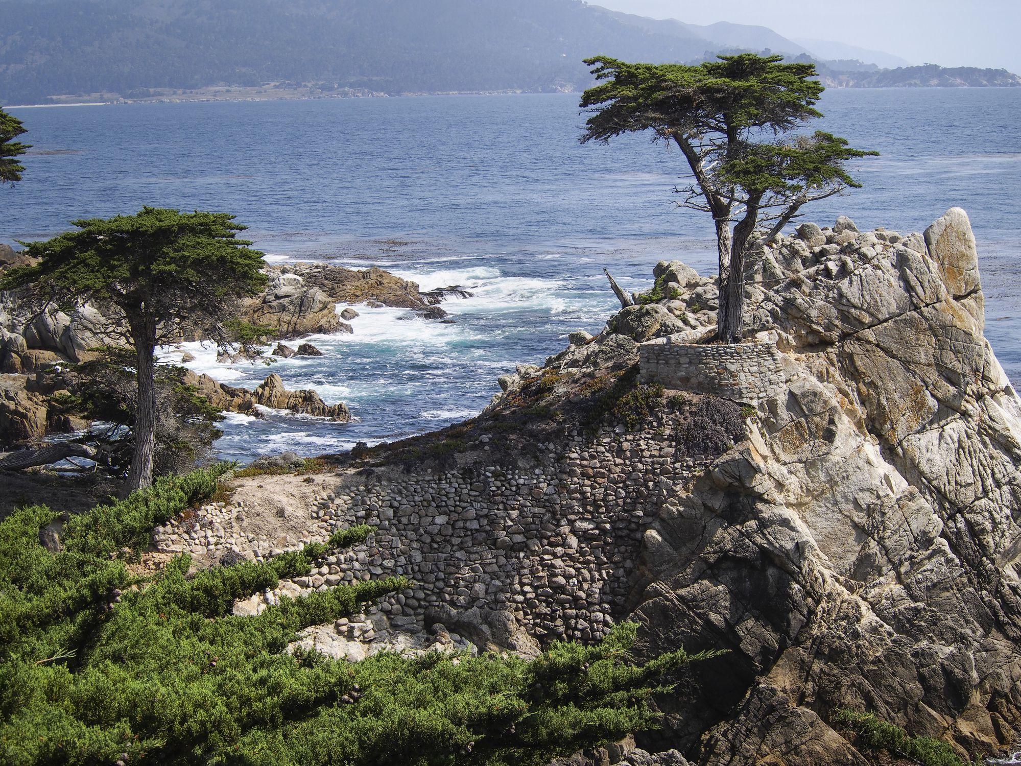 coast along Carmel California