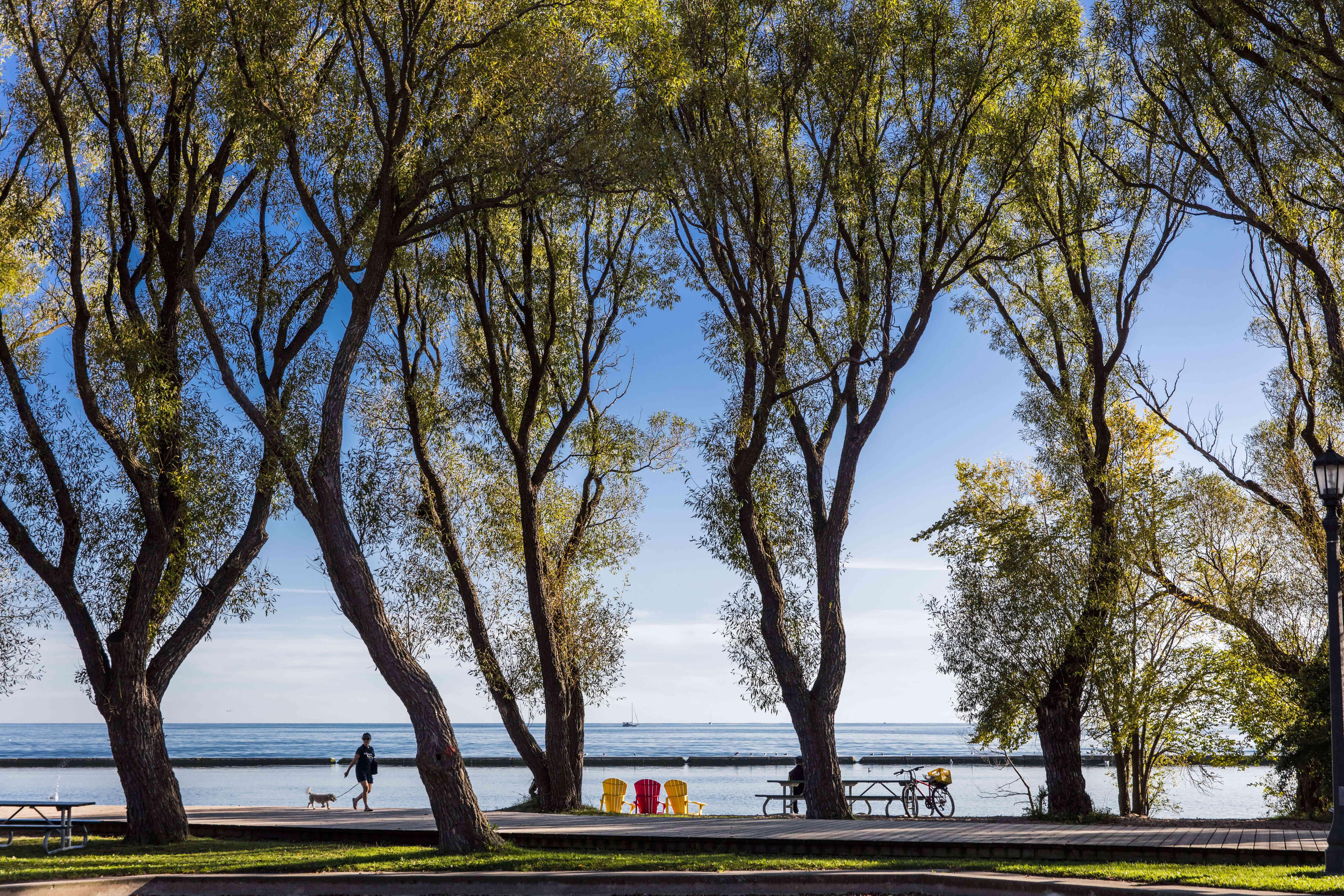 Sunnyside Park in Toronto