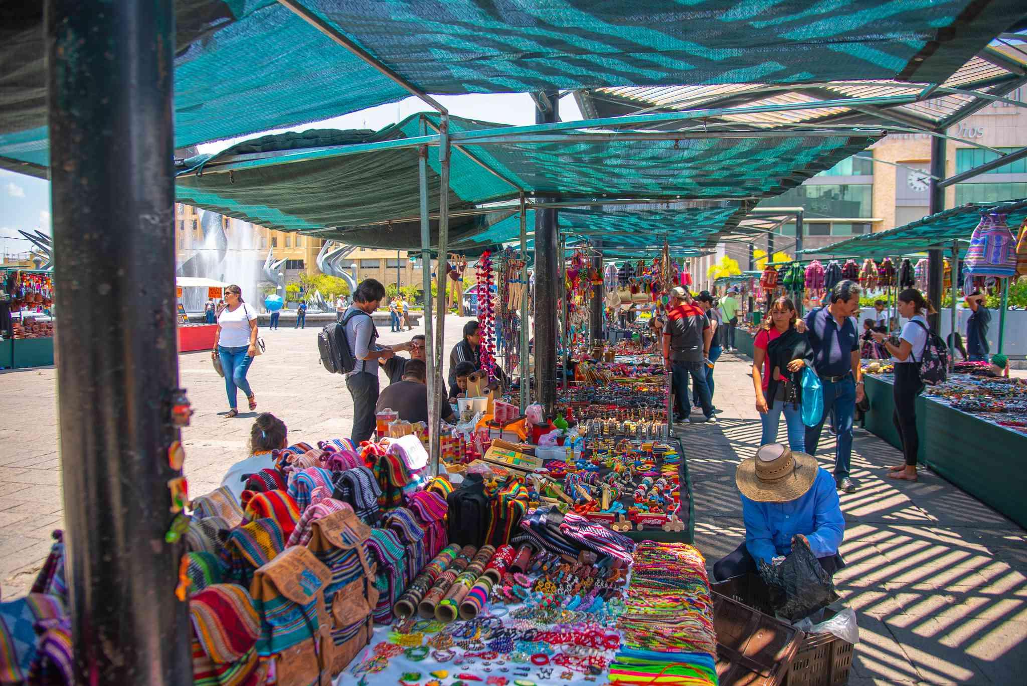 handicrafts market in guadalajara