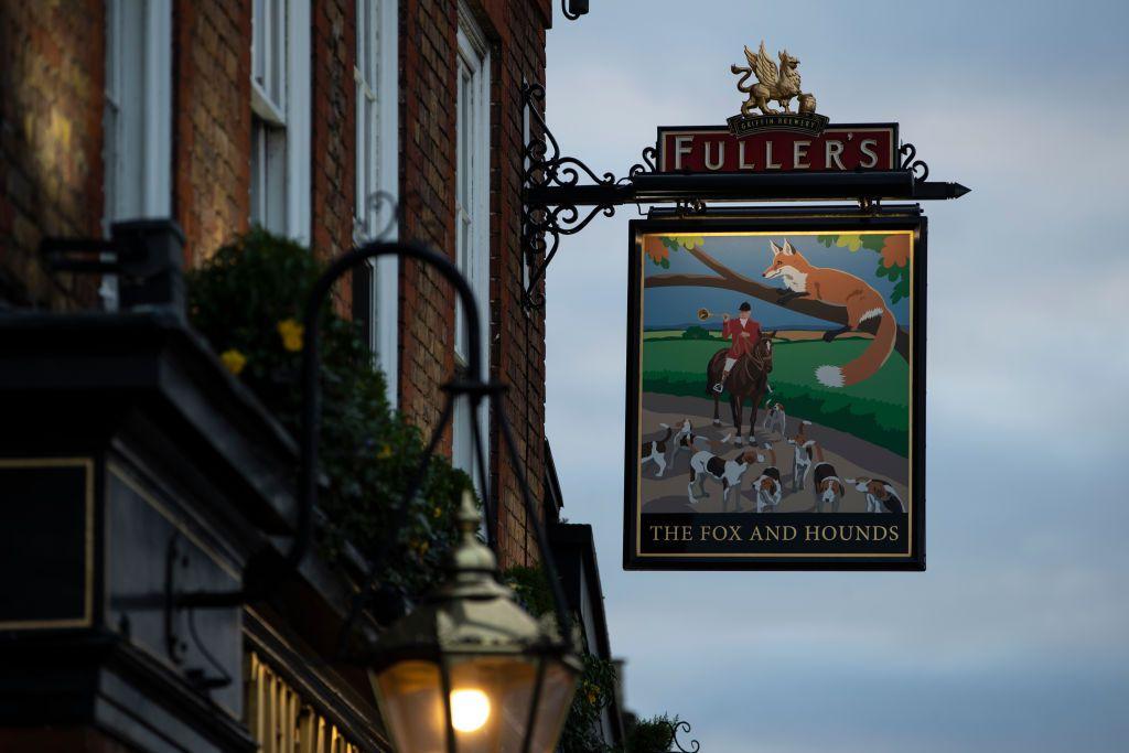 Fuller's pub in London