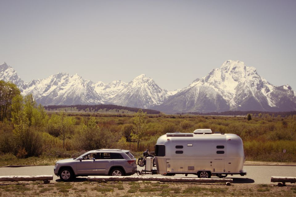Airstream Camping in Grand Teton National Park