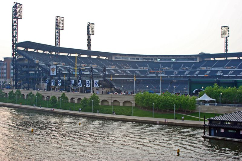 The river side of PNC Park