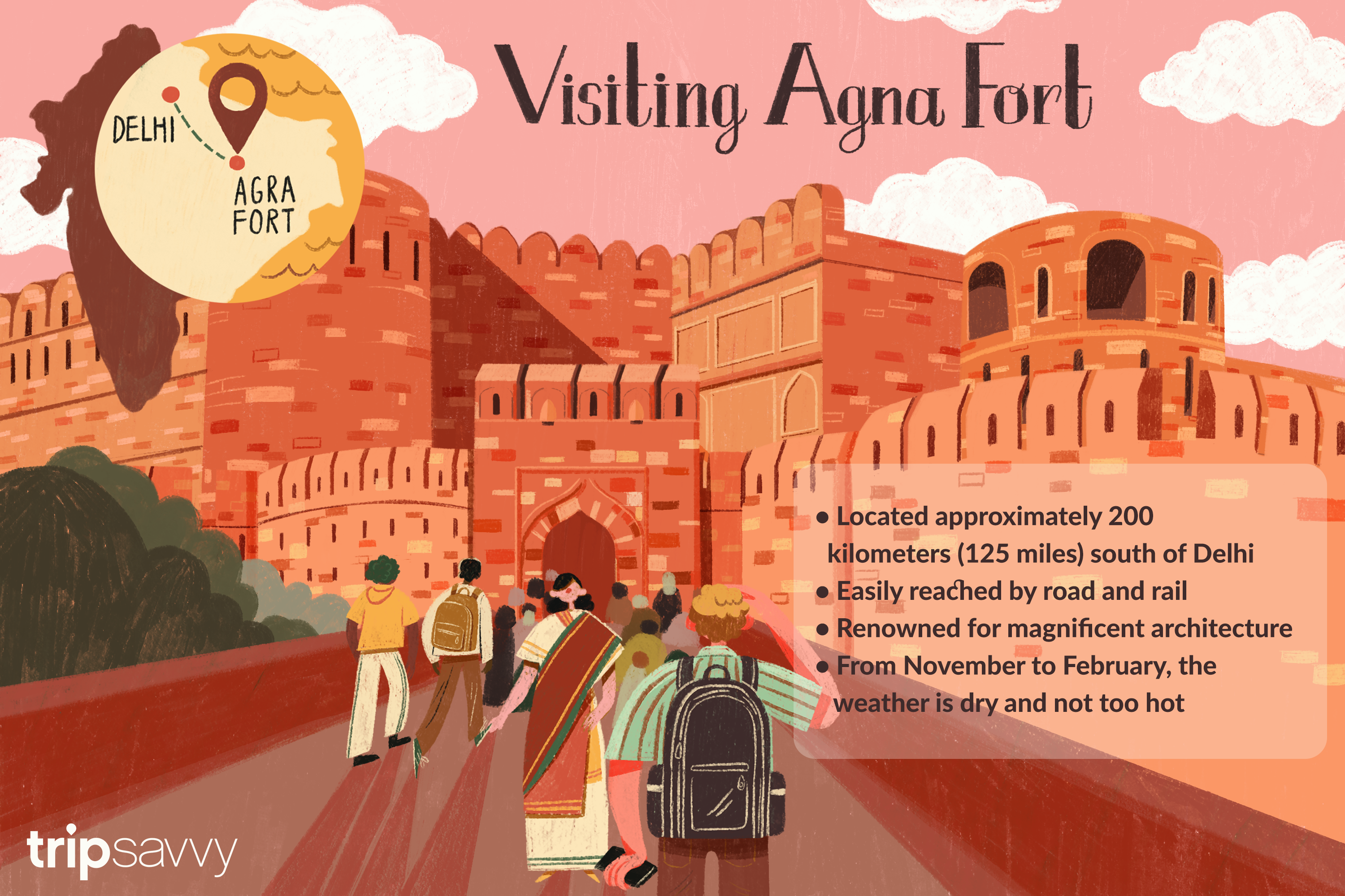 tips for visiting agra fort