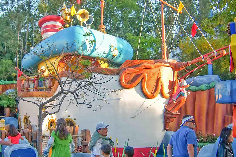 Donald's Boat at Disneyland