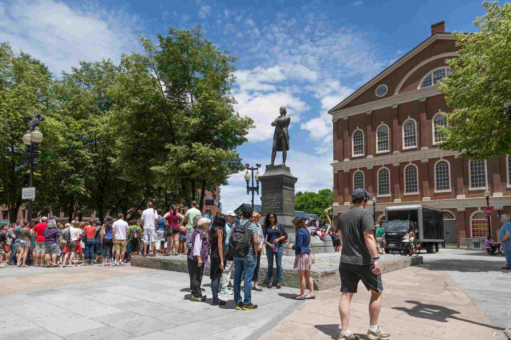 Freedom Trail Faneuil Hall Boston