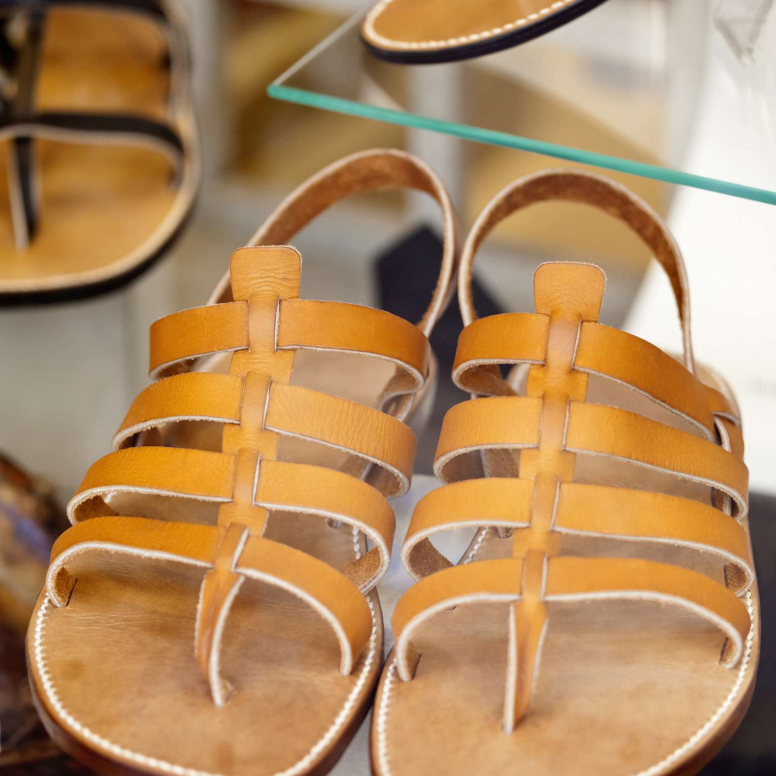 Rondini sandals from St-Tropez, France