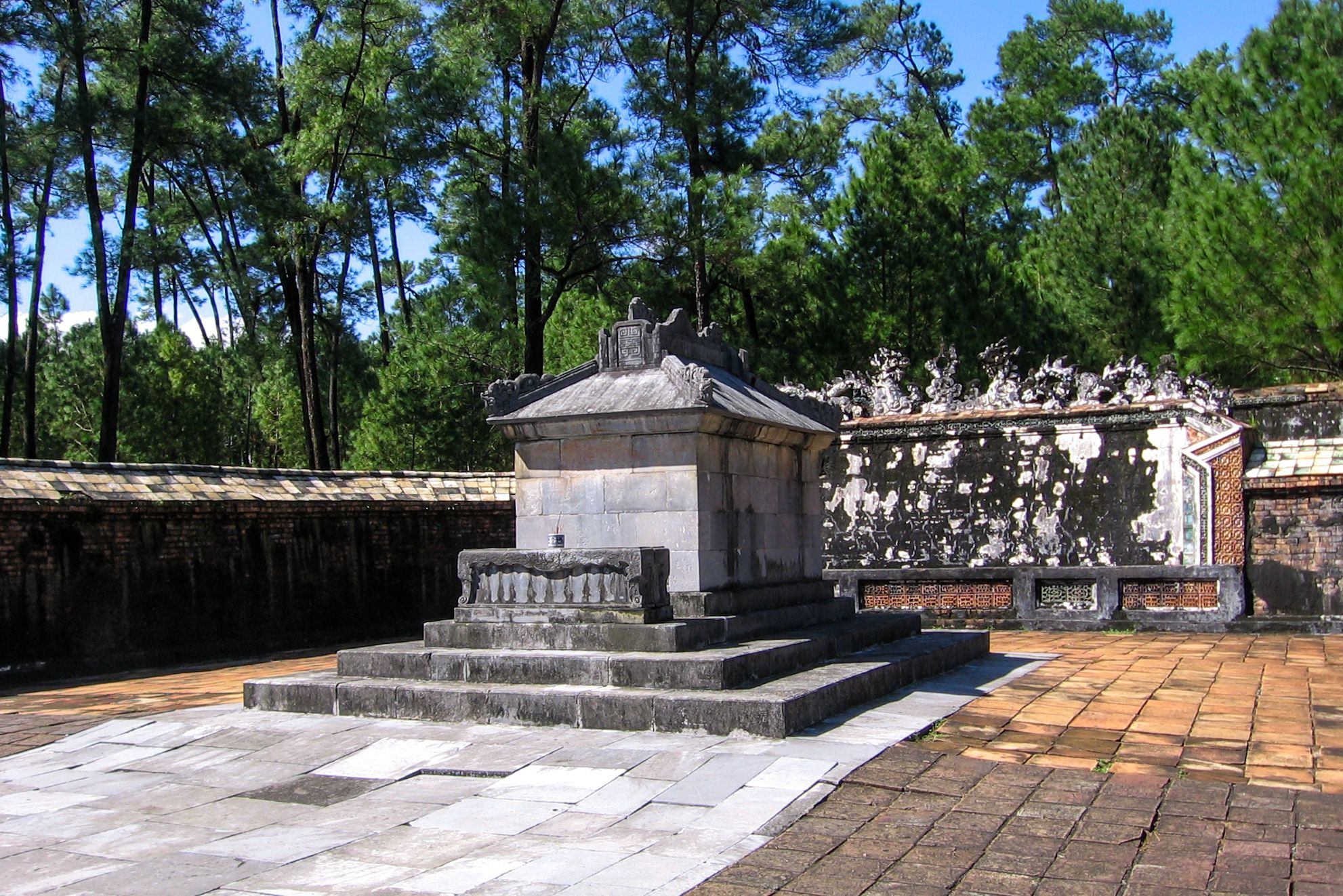 The Emperor's Sepulcher, Tu Duc Royal Tomb, Hue, Vietnam