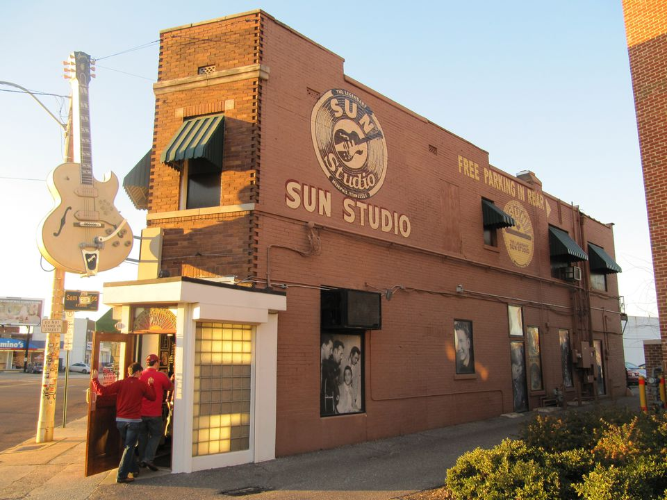 Memphis Sun Studios exterior