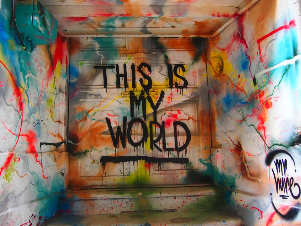 this is my world graffiti istanbul