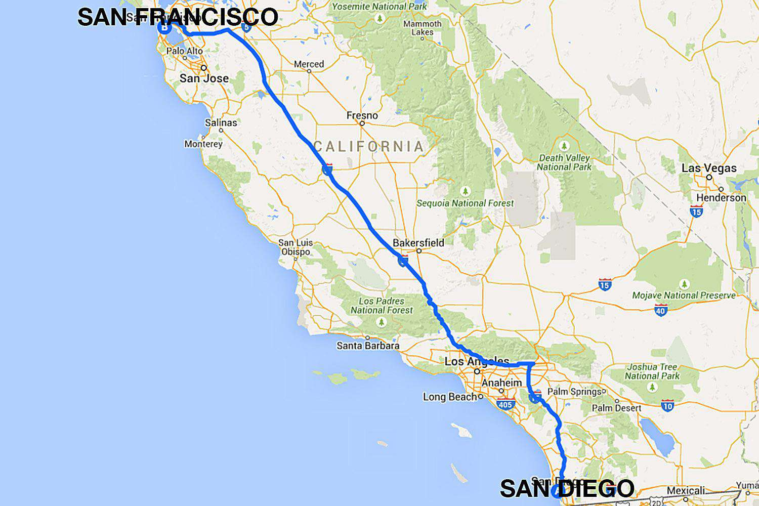 san diego to san francisco: all the ways to travel
