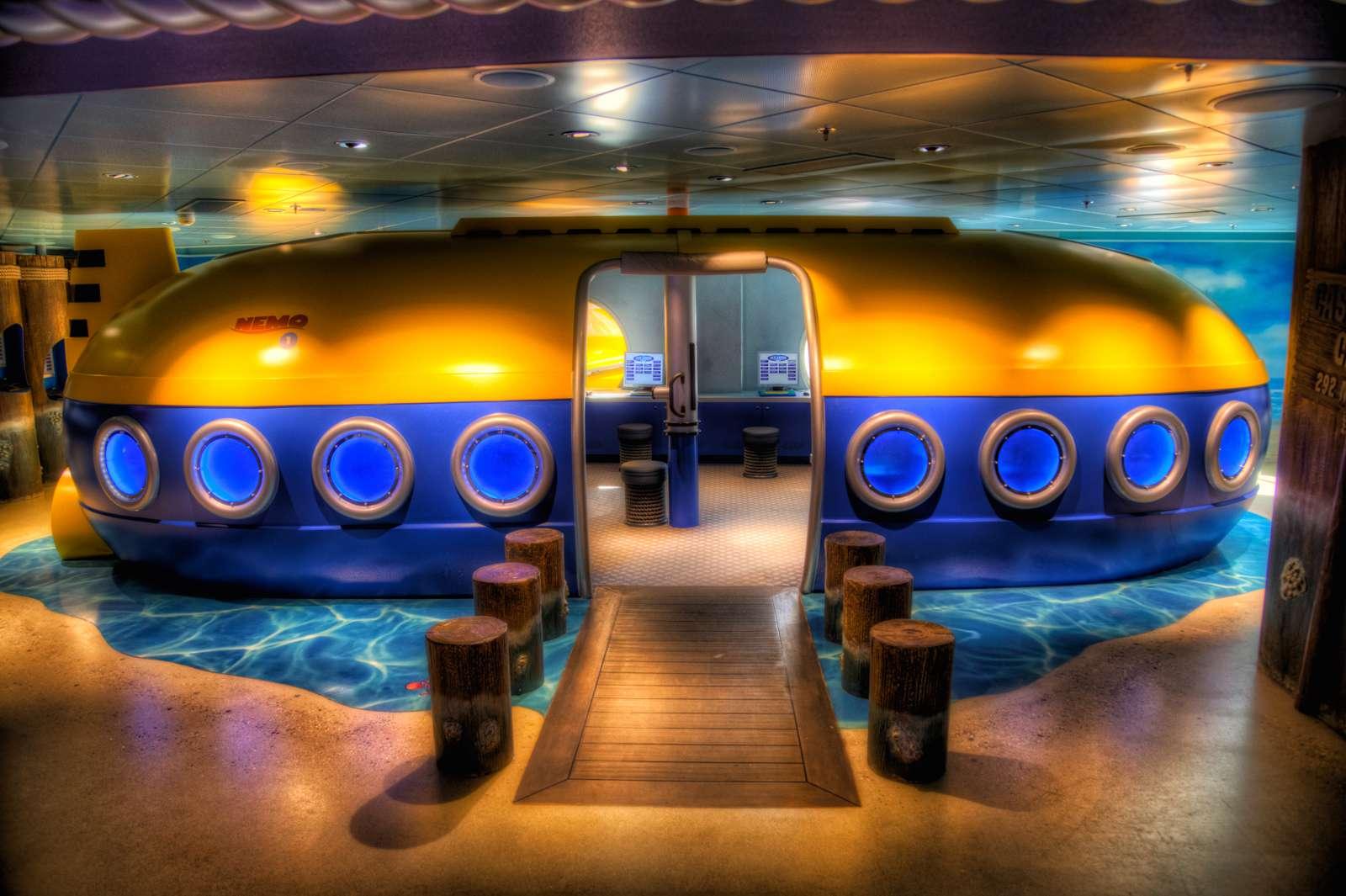 Disney's Oceaneer Club - Nemo's Room