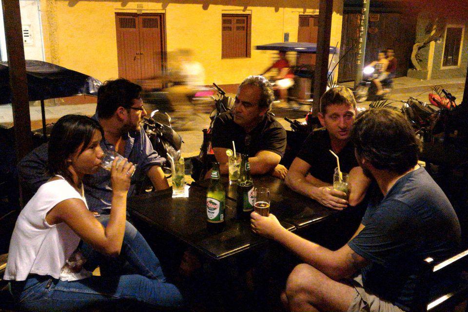 Beber en el Perú