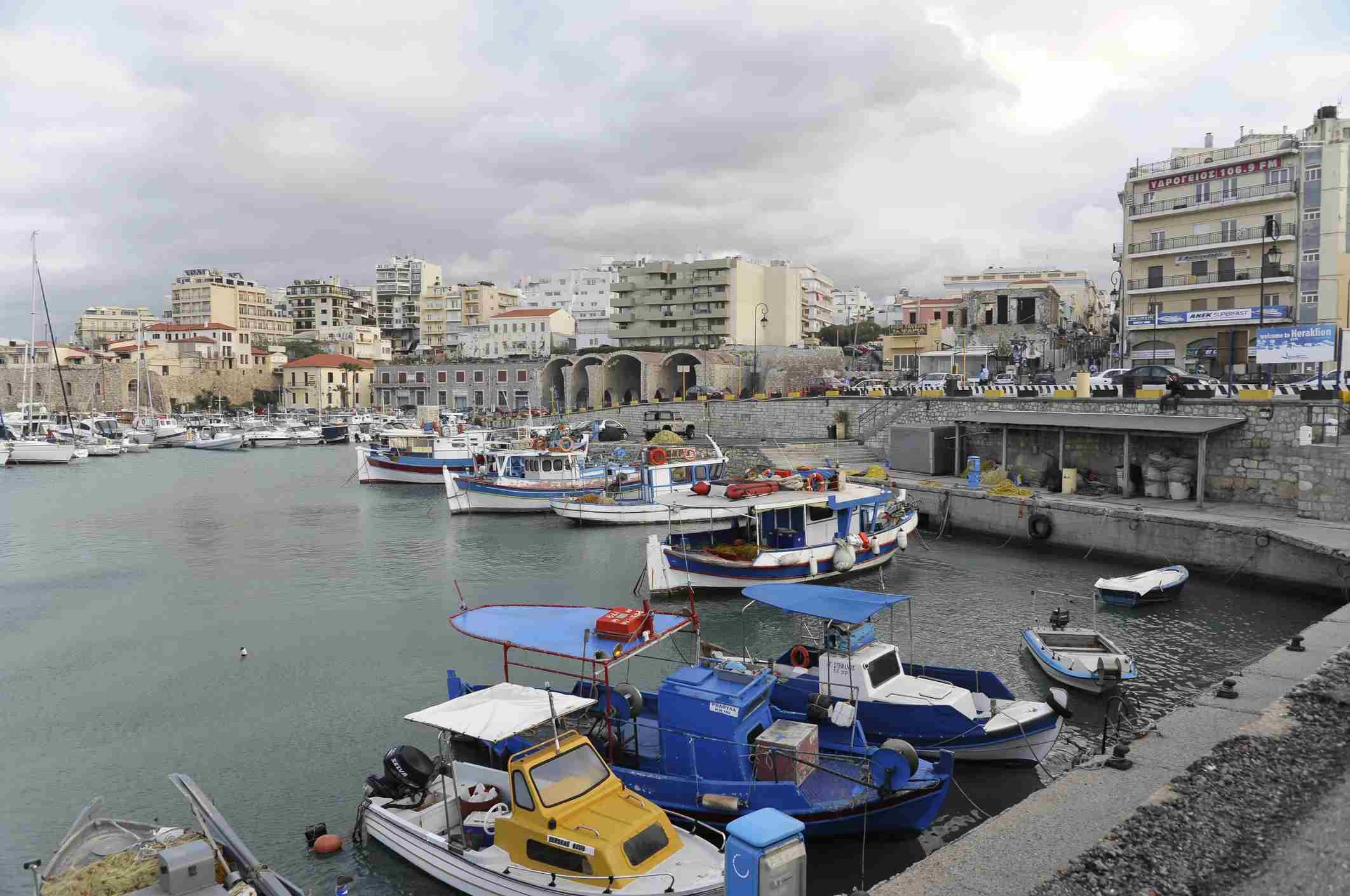 Venetian Harbour, Heraklion