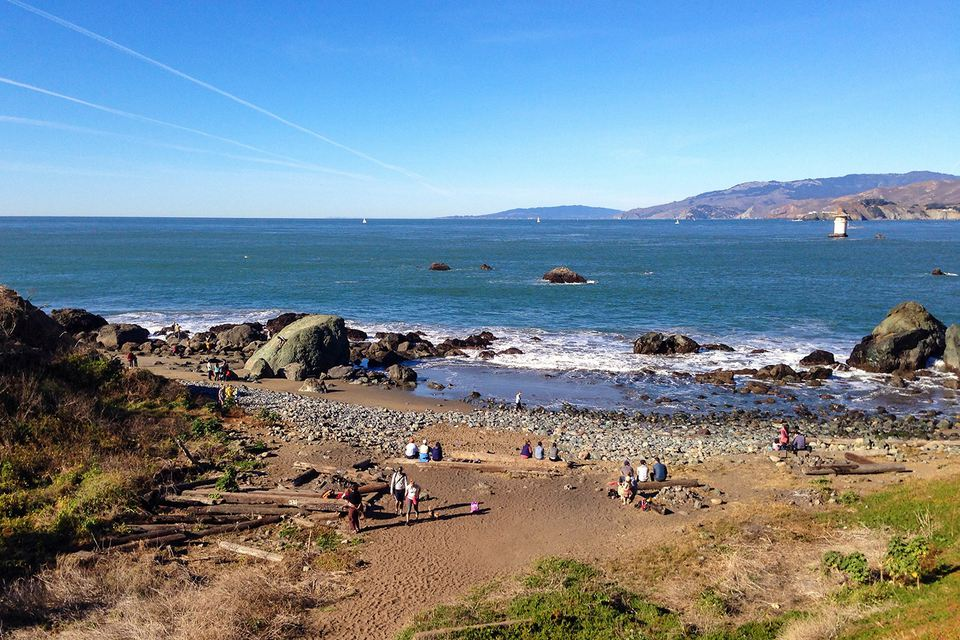 Lands End Beach, San Francisco
