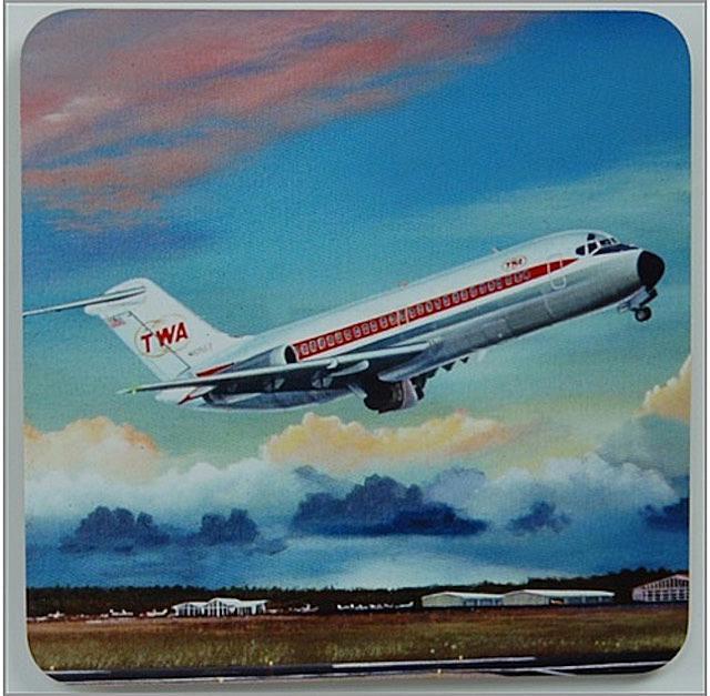 A TWA DC-9 coaster