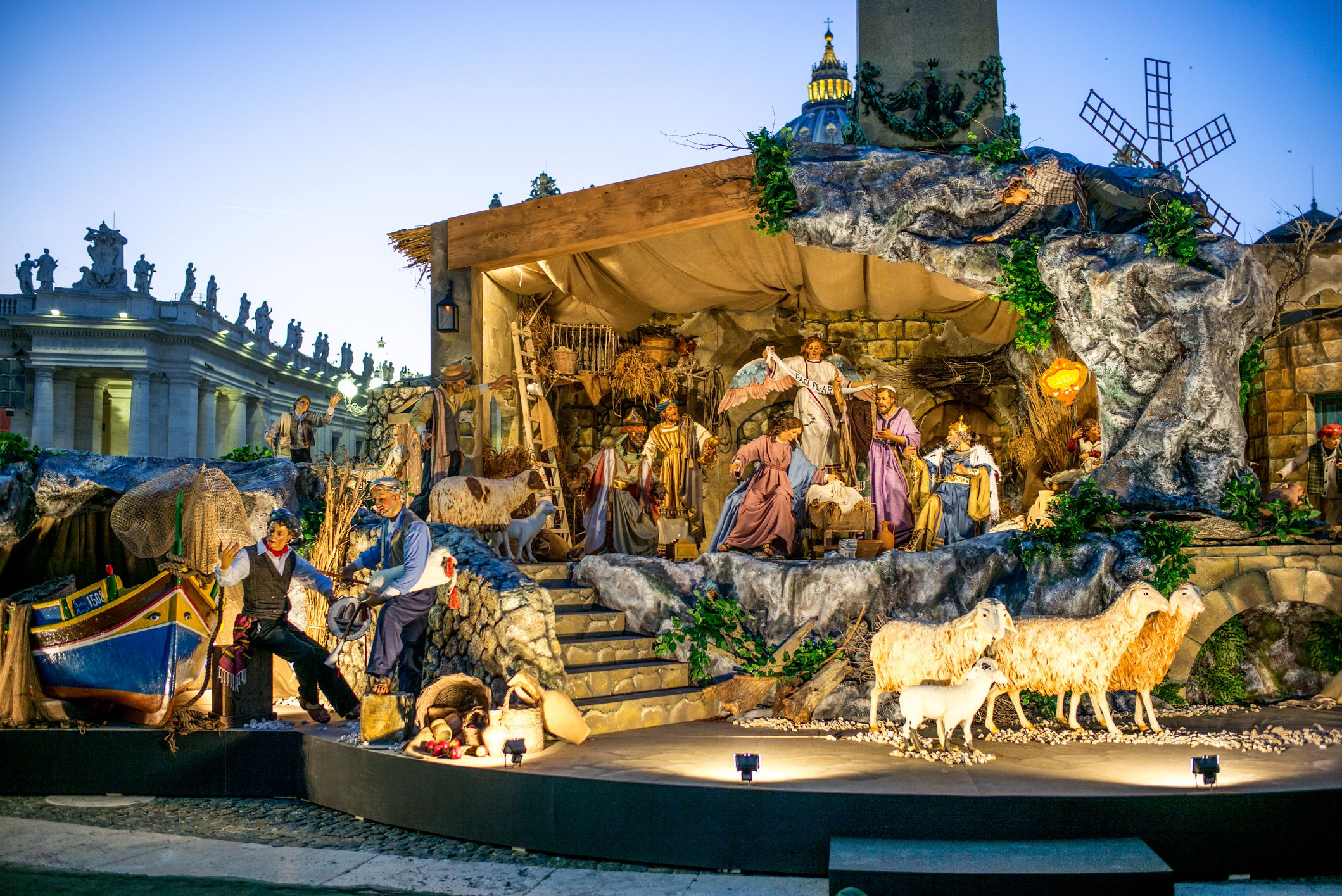 Rome Christmas Season Events and Traditions