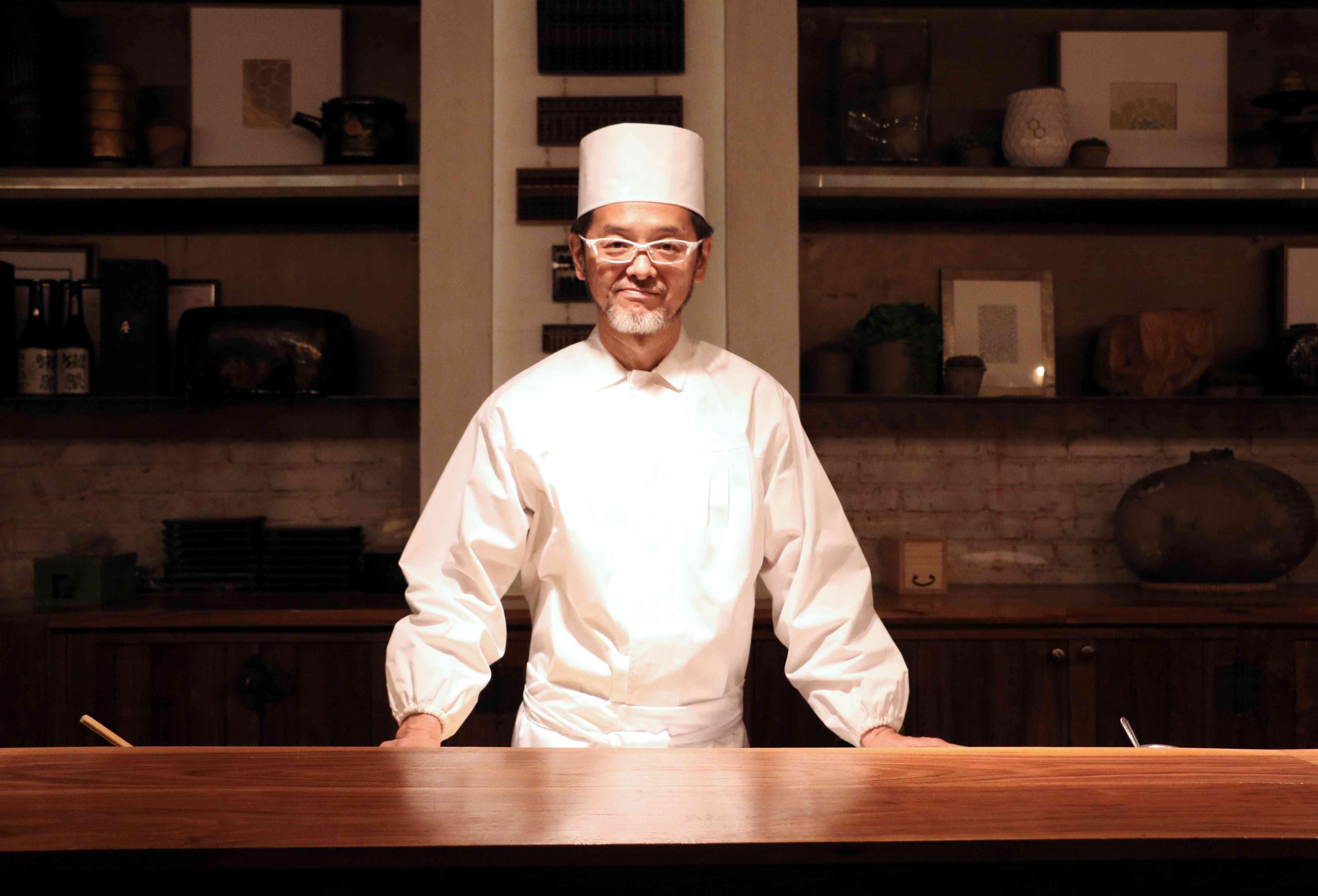 chef Hiroyuki Naruke