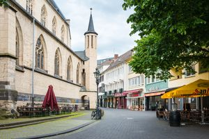 Town square in Bonn / Germany