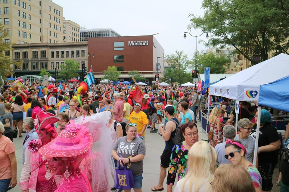 Madison, WI gay pride parade