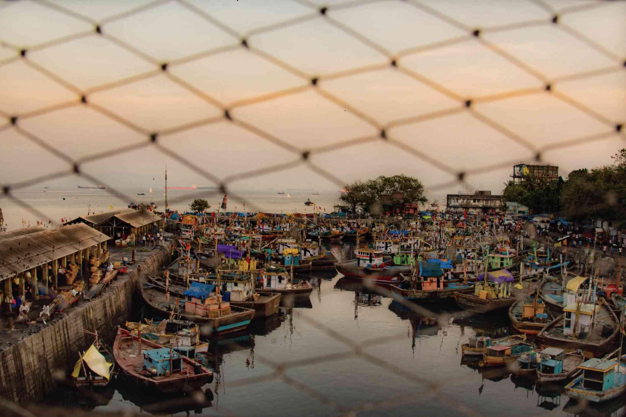 Mumbai Sassoon Dock.