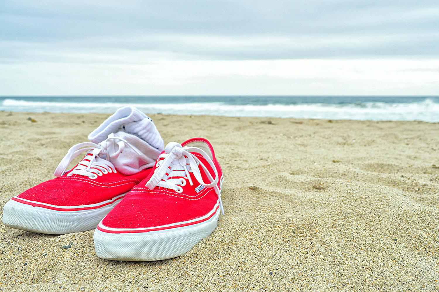 Zuma Beach is a Great Place to Ditch Your Shoes for a While
