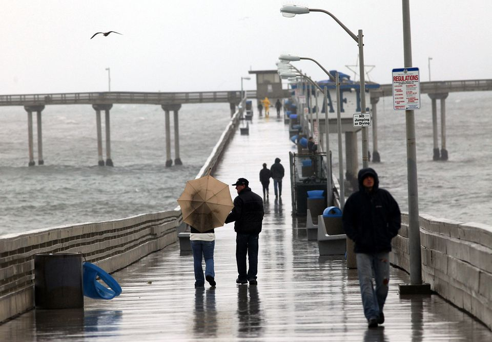 Southern California trenched in rain