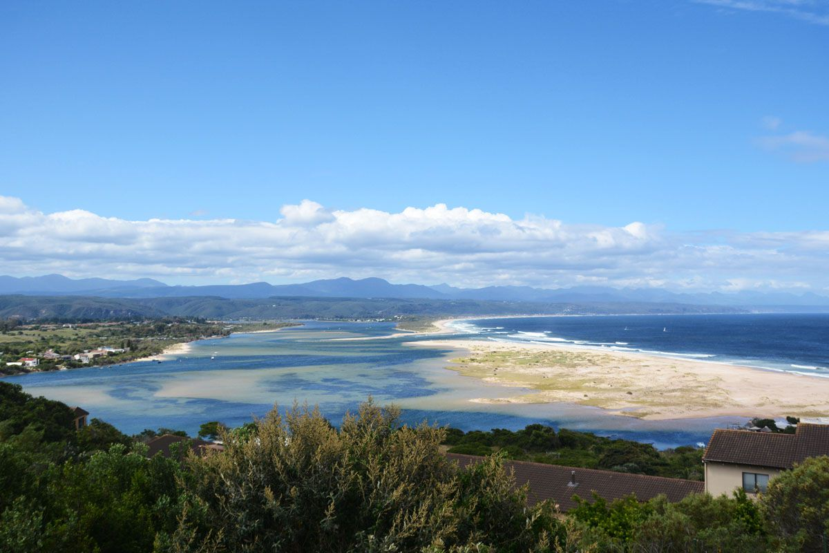 View of the sea from Plettenberg Bay