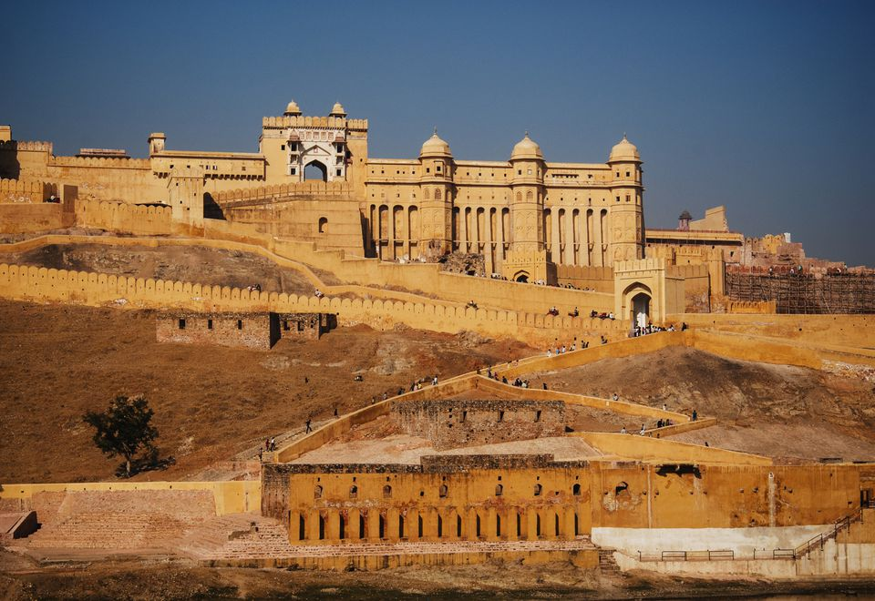 Amber Fort, Jaipur, Rajasthan.