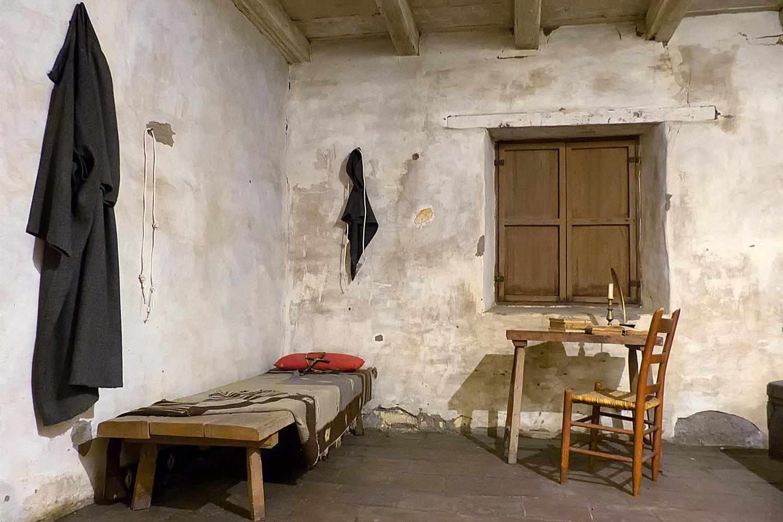 Father Serra's Room, Mission Carmel