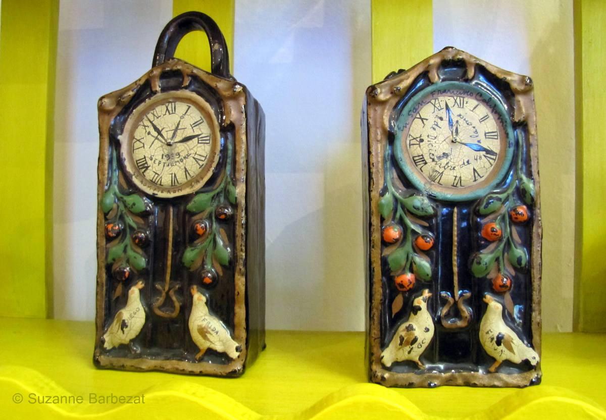 Frida Kahlo Divorce Clocks