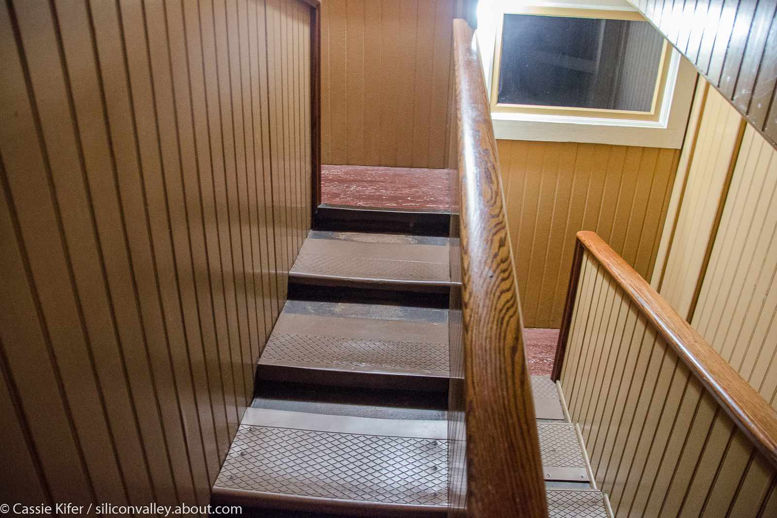 Winchester Mystery House Tour Switchback Staircase