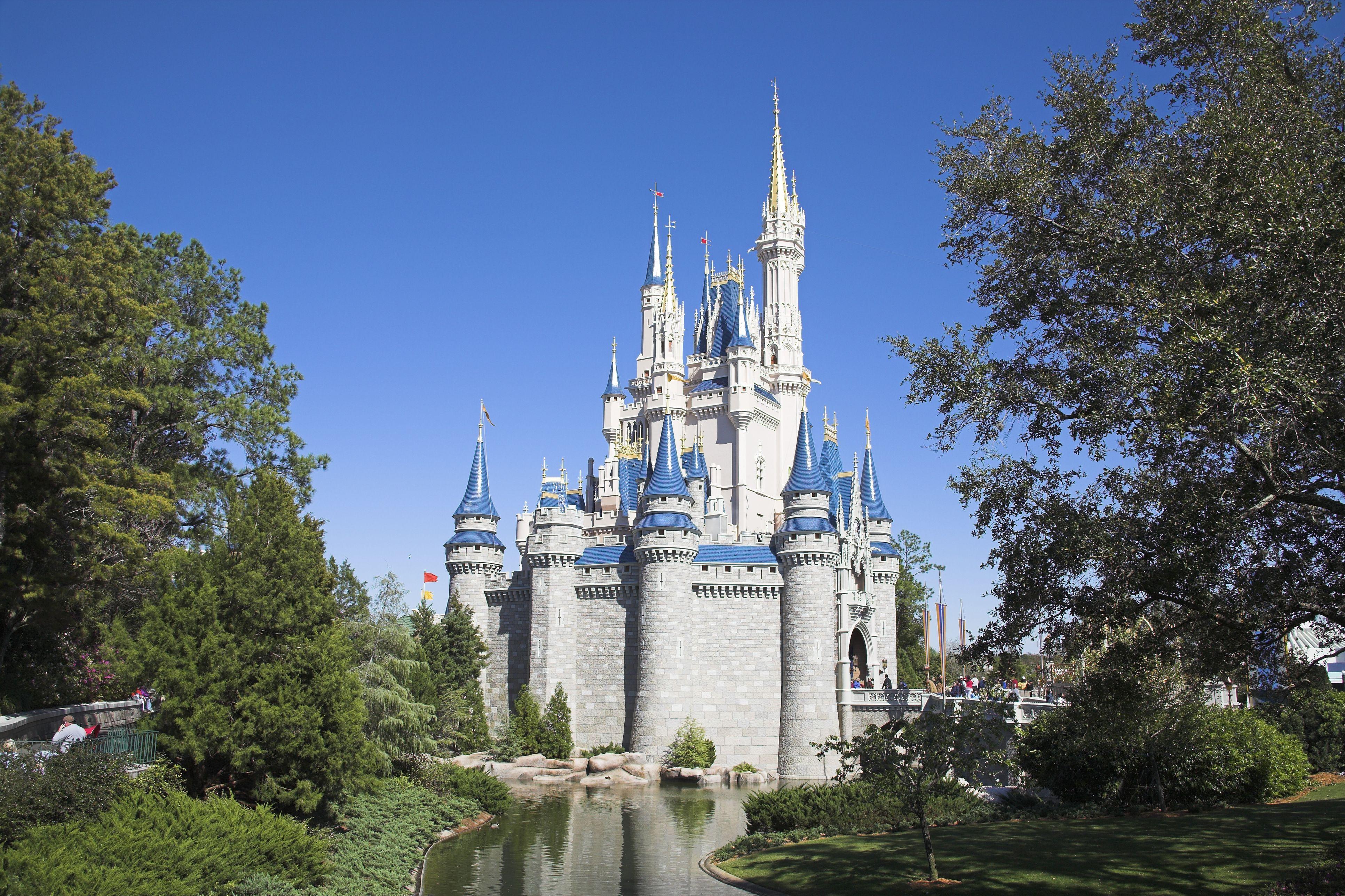 Cinderella Castle, Magic Kingdom, Disney World, Orlando, Florida, USA