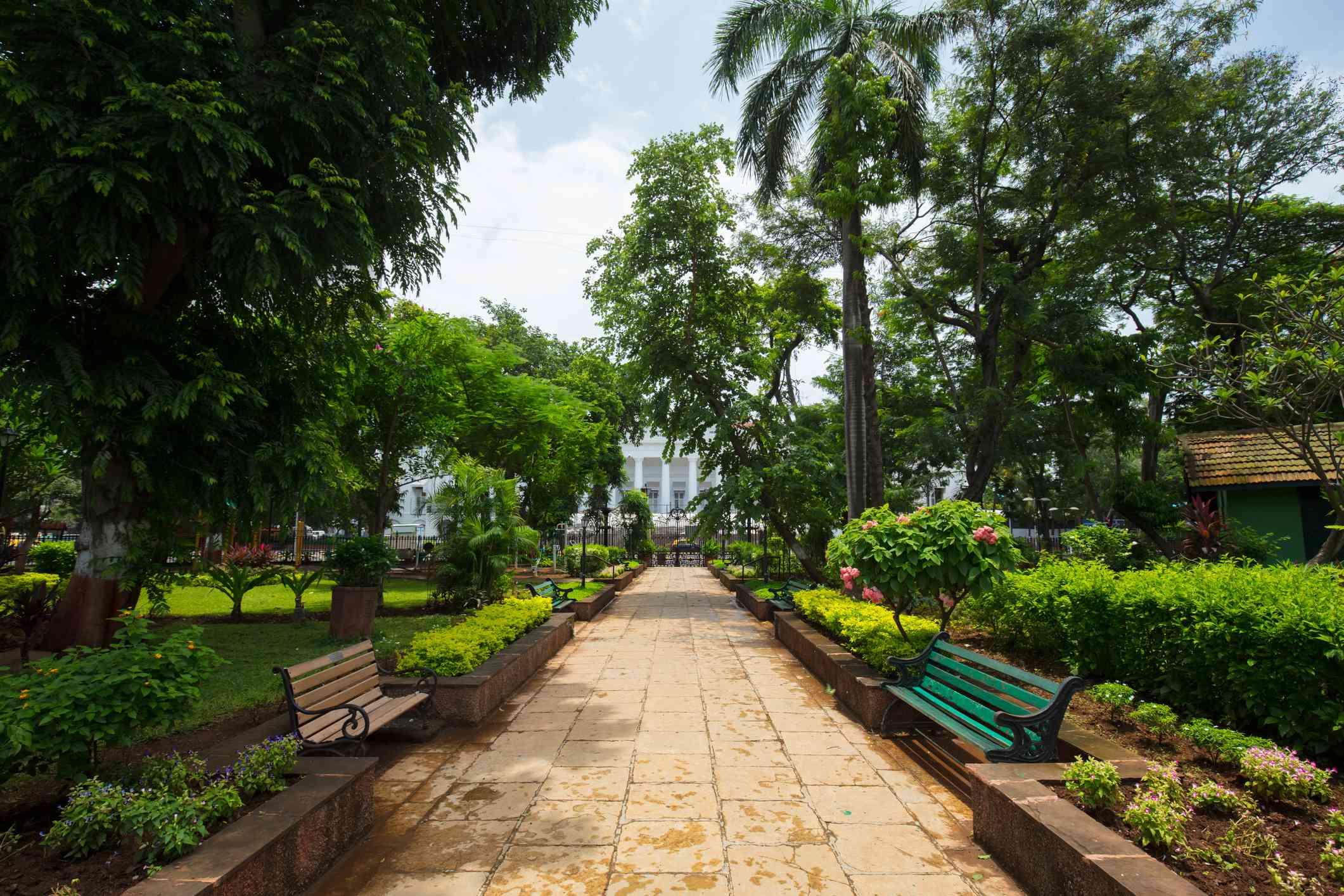 Horniman Circle Gardens, Mumbai.
