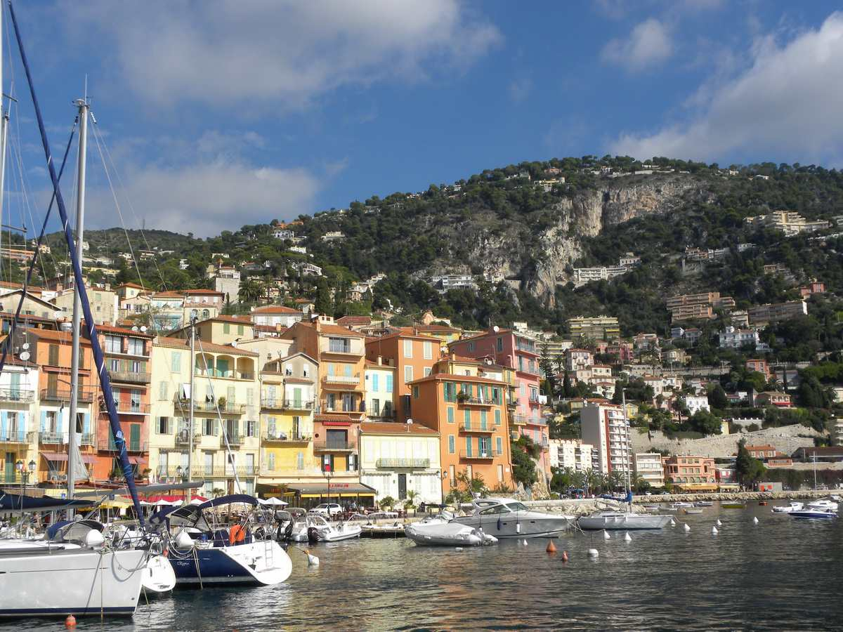 Villefranche on the French Riviera