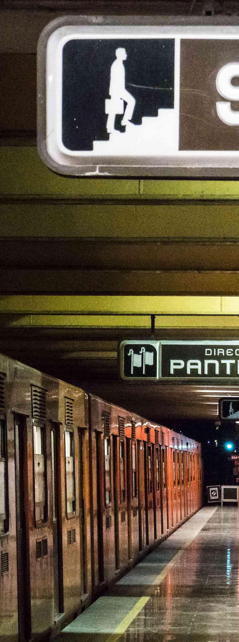 The Metro Transport System, Mexico City, Mexico