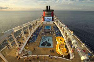 Disney Dream–Disney cruises seem like they're just for families, but the massive ships offer plenty for adults to love