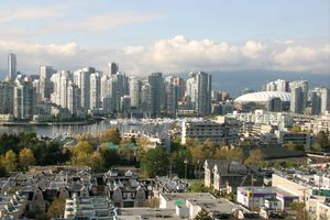 Vancouver skyline May
