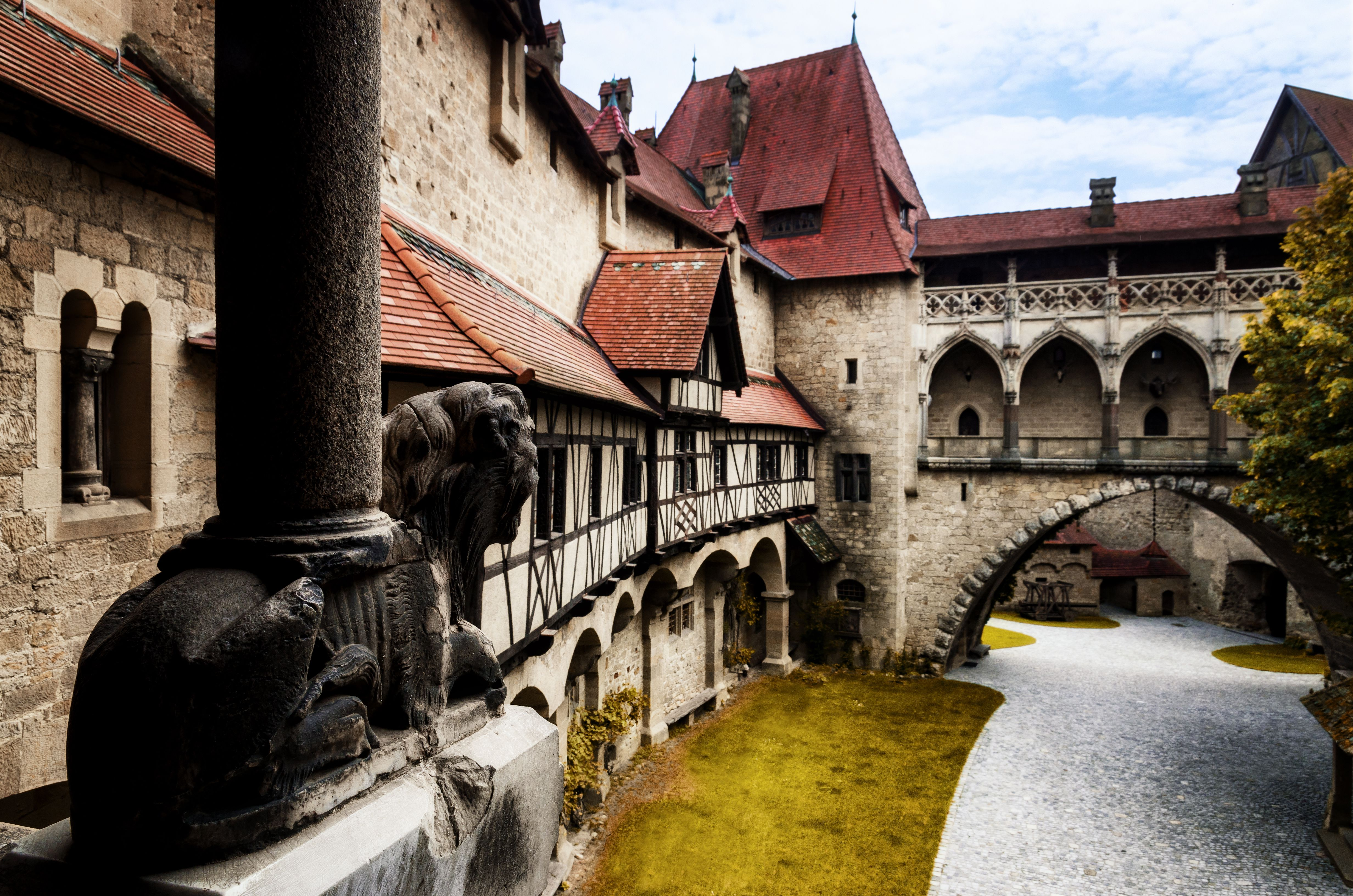 Kreuzenstein Castillo en Austria
